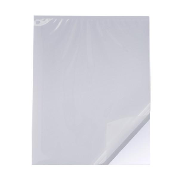 Cold Pouch White Foam Board, Matte Film layer