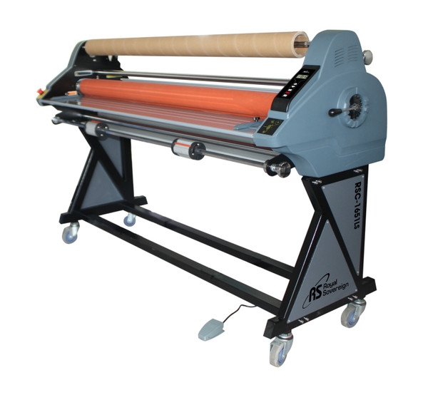 laminator with foot pedal