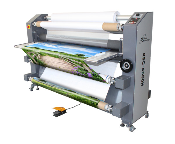 laminator with photo and foot pedal