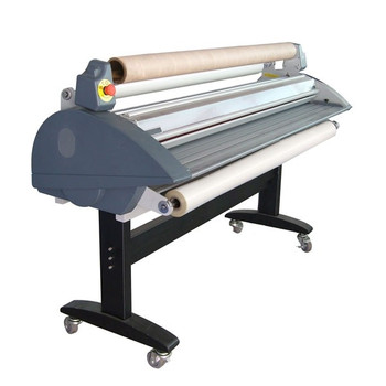 side view of laminator