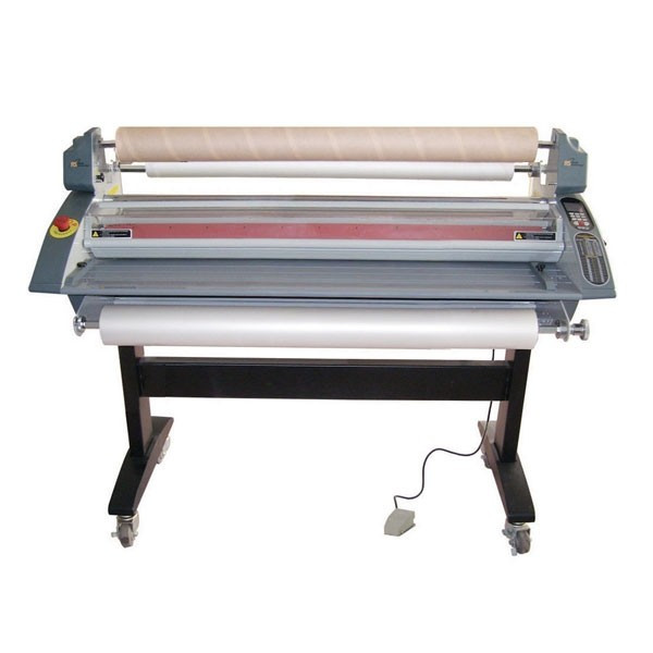 laminator loaded with roll film