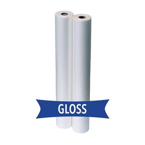 """3 Mil Clear Gloss Standard Roll Laminating Film 9/"""" x 250/' 1/"""" Core Brand New"""