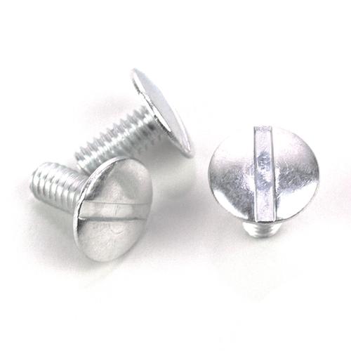 100 sets//bx 3//8 in Black Aluminum Chicago Screws