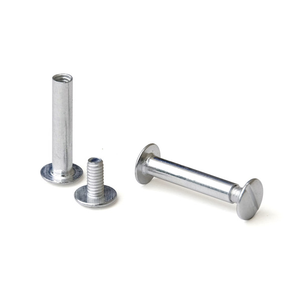 1 In Aluminum Screw Posts Chicago Screws