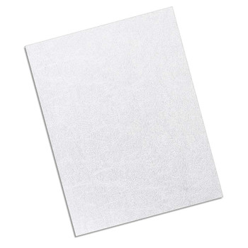 white 12 mil leather texture cover
