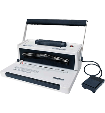TruBind TB-S20AP Spiral Coil Binding Machine with Foot Pedal