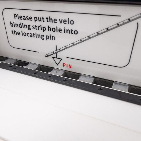 velobind strip pin