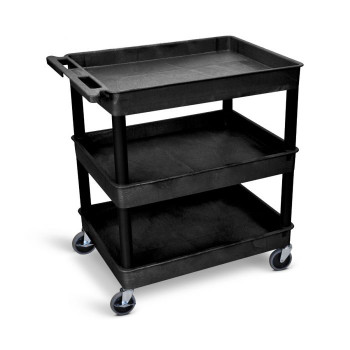 Large Tub Cart WITH Three Shelves