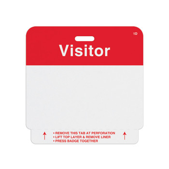 Expiring Visitor Badge