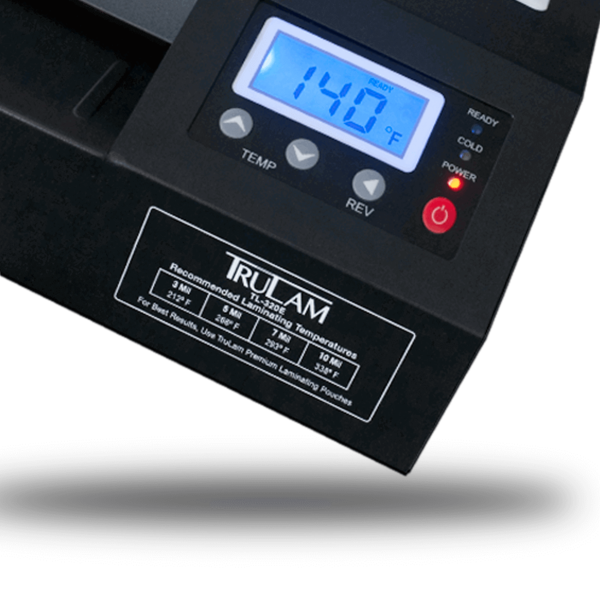 TL-320E Digital Temperature and Speed Display