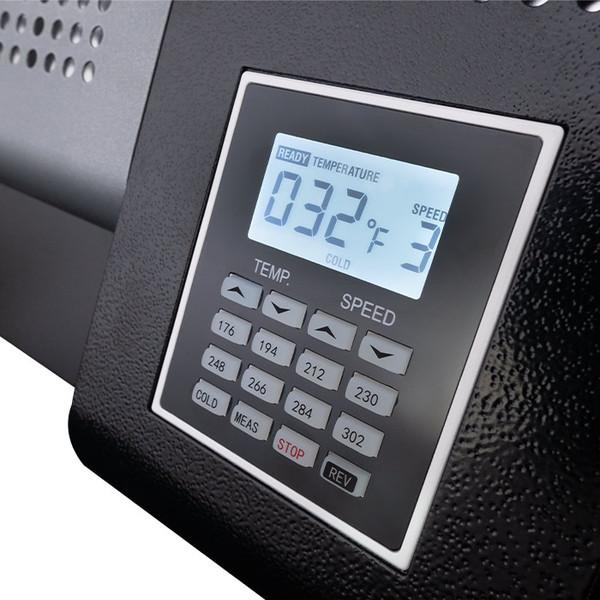 TL-600 pouch laminator digital control display