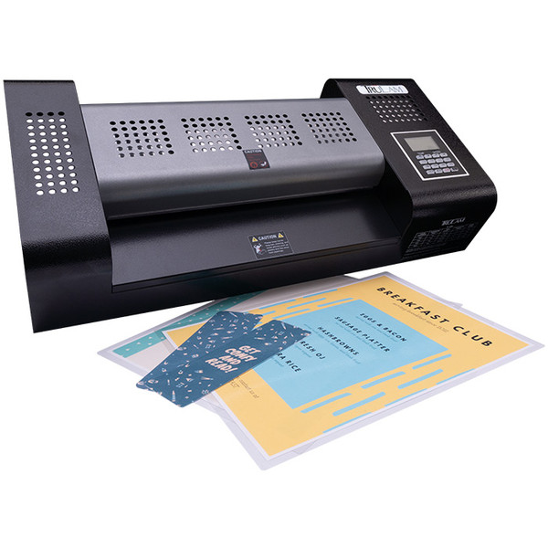 TL-600 pouch laminator front angled view