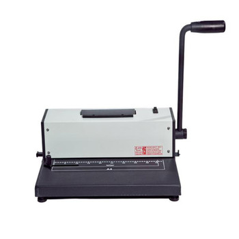 electric binding with handle